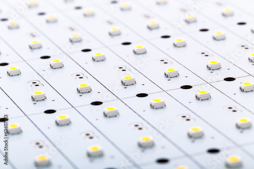 SMD LEDs on White PCB, LED Technology