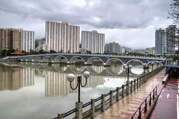 Lek Yuen Bridge, Shatin.