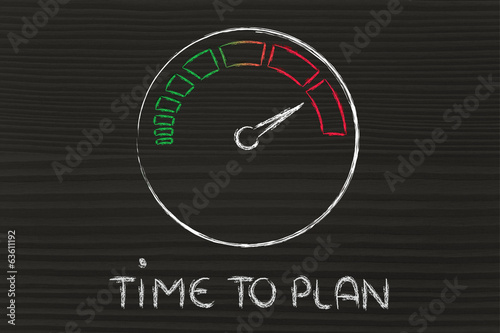 speedometer and fast success: time to plan