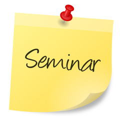 Notizzettel Seminar