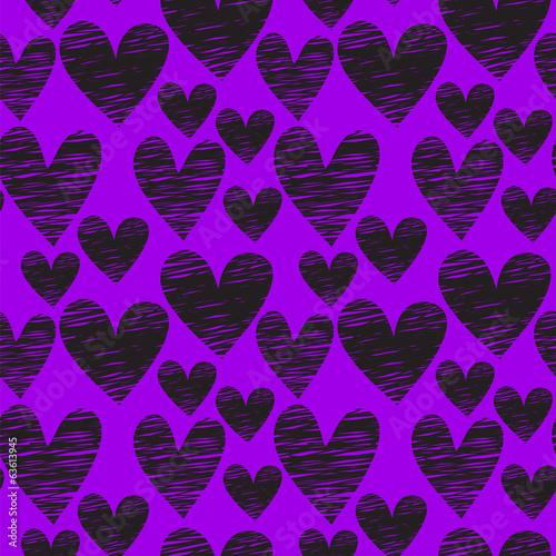 heart seamless pattern