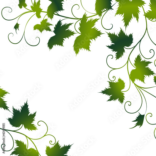 GamesAgeddon - blätter,grün,floral,weinblatt,weinblätter,wein,menü ...