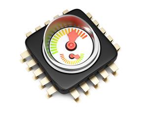 CPU performance concept