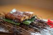 Japanese style roasted eel