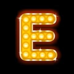 Light Bulb Letters E