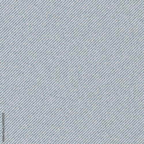 Seamless texture of gray denim diagonal hem.