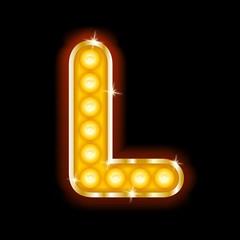 Light Bulb Letters L