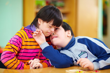 relations between kids with disabilities