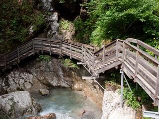 pathway through gulch