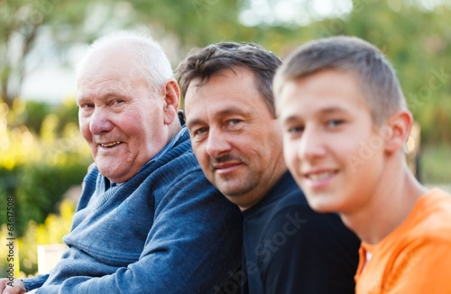 Three Generations Portrait