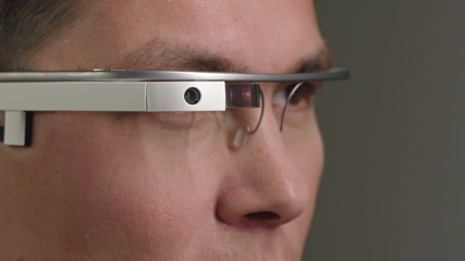 Handling the Google Glass