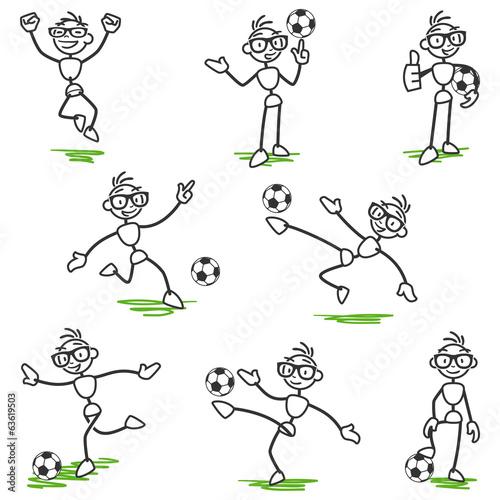 strichmännchen fußball