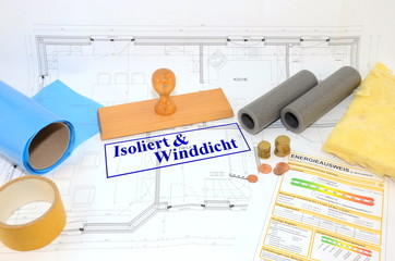 Isoliert & Winddicht
