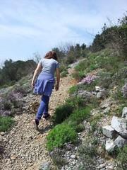 Salendo sul sentiero