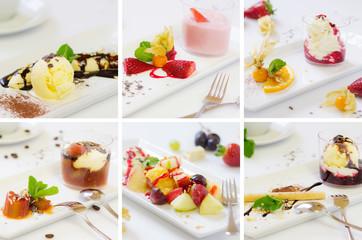 Dessert Kollage