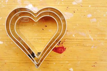 Stampi per biscotti a forma di cuore