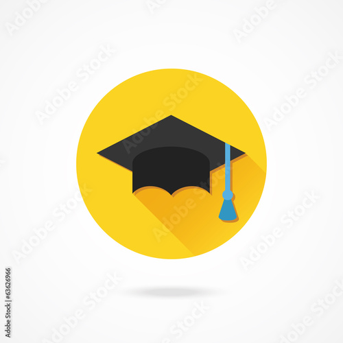 Vector Graduation Cap Icon
