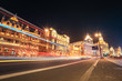 shanghai bund street at night