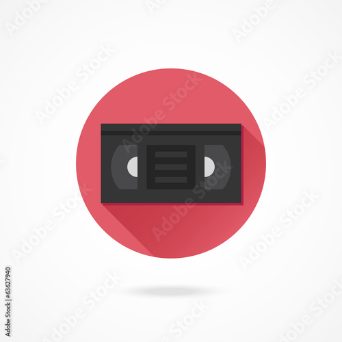 Vector Video Tape Icon