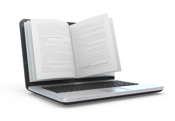 E-book.  E-reading. E-learning.