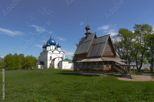 St. Nicholas Church and Nativity Cathedral in Suzdal