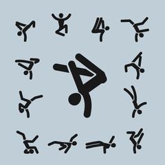 Dance. Vector format