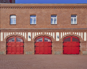firesquad station, central Europe, Germany