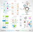 Timeline Infographic design templates Set 2.