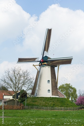 Traditional Dutch mill