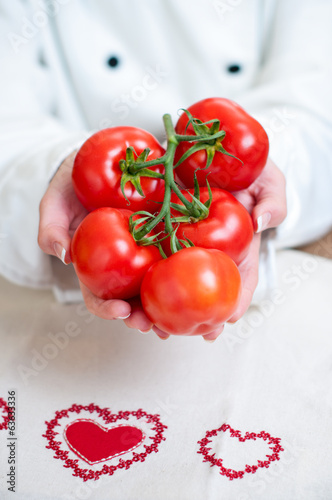 Handful of tomatoes