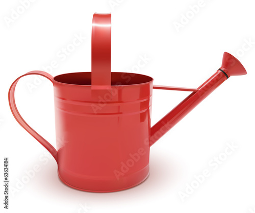 watering can red