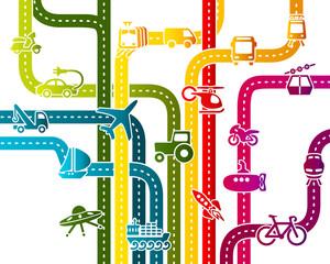 Business transportation infrastructure