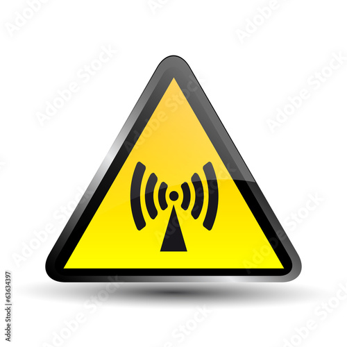 Non Ionising Radiation Sign
