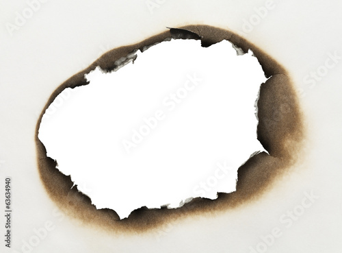 Burnt Paper Hole