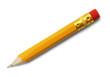 Leinwanddruck Bild - Small Pencil