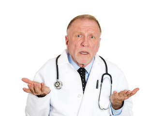 Doctor says I don't know, complicated diagnosis