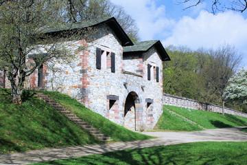Römerkastell Saalburg - Westtor - Innenansicht - Bild 2