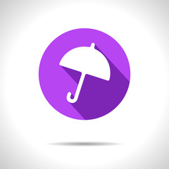 Vector umbrella icon. Eps10