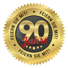 90 Jahre Jubiläum - Feiern Sie mit!