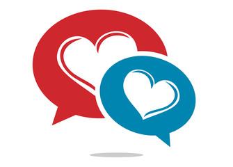 dating love meet  logo