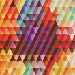 Abstract geometric style background