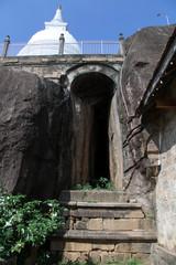 Rock temple