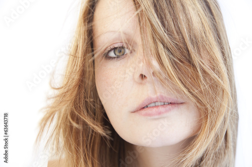 Beautiful, natural woman portrait