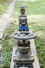 Valve of water pumping