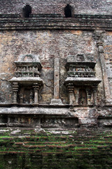 Wall of temple