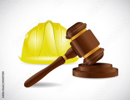 construction law illustration design