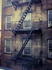 Escalera de incendios
