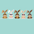 5 Rabbits Sunglasses Retro