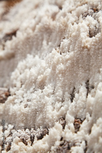 Close up and detail of Salt, Maras, Peru, South america