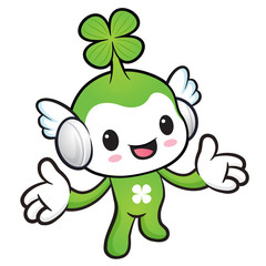 The Lucky Fairy mascot has been welcomed with both hands. Nature